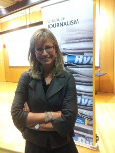Michelle Shephard, Toronto Star national security reporter and 2013 Atkinson Lecture speaker.