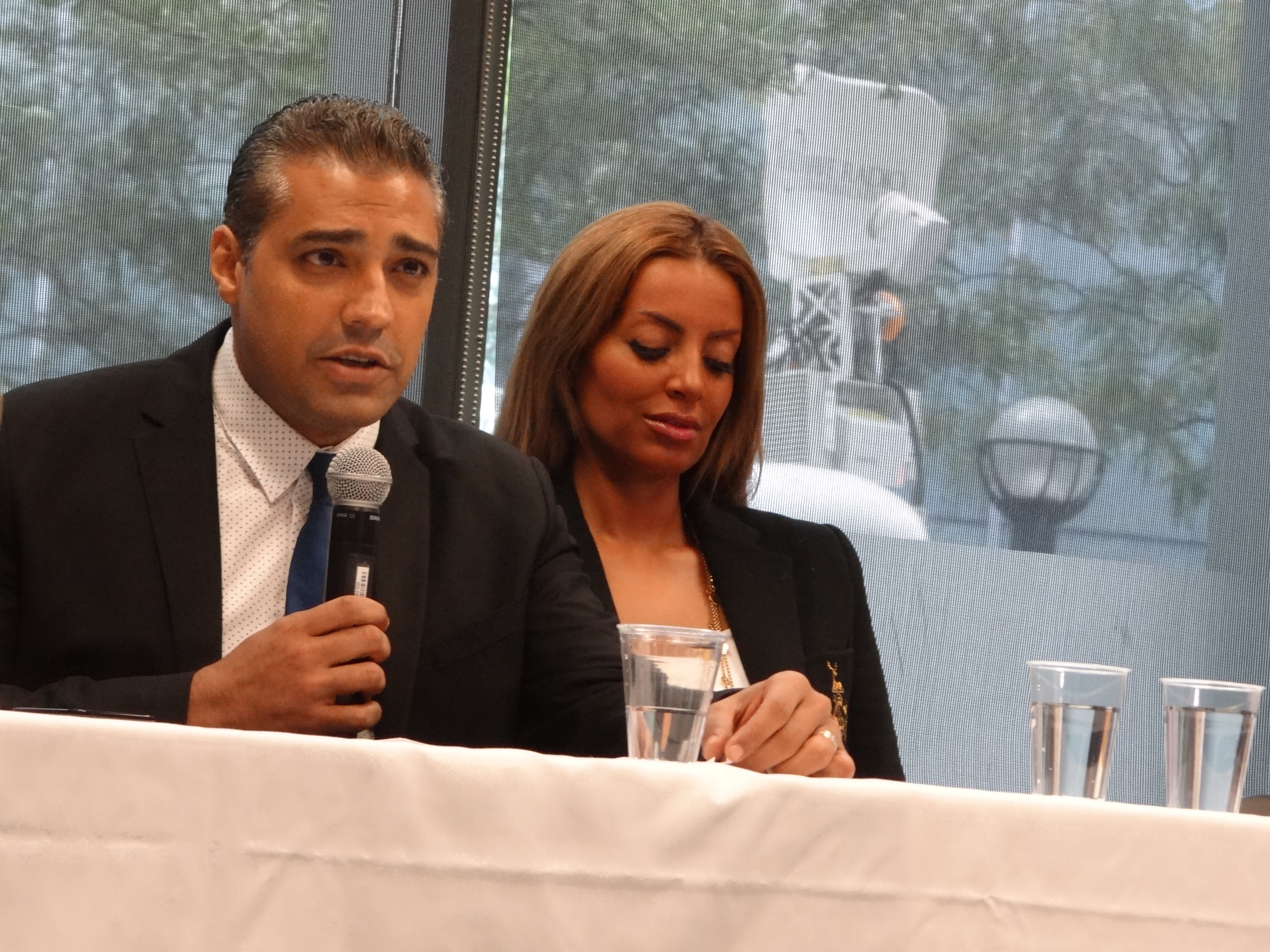 """Fahmy says he wants to start """"a conversation in Canada"""" about how to better protect citizens in trouble abroad. [Ilina Ghosh]"""