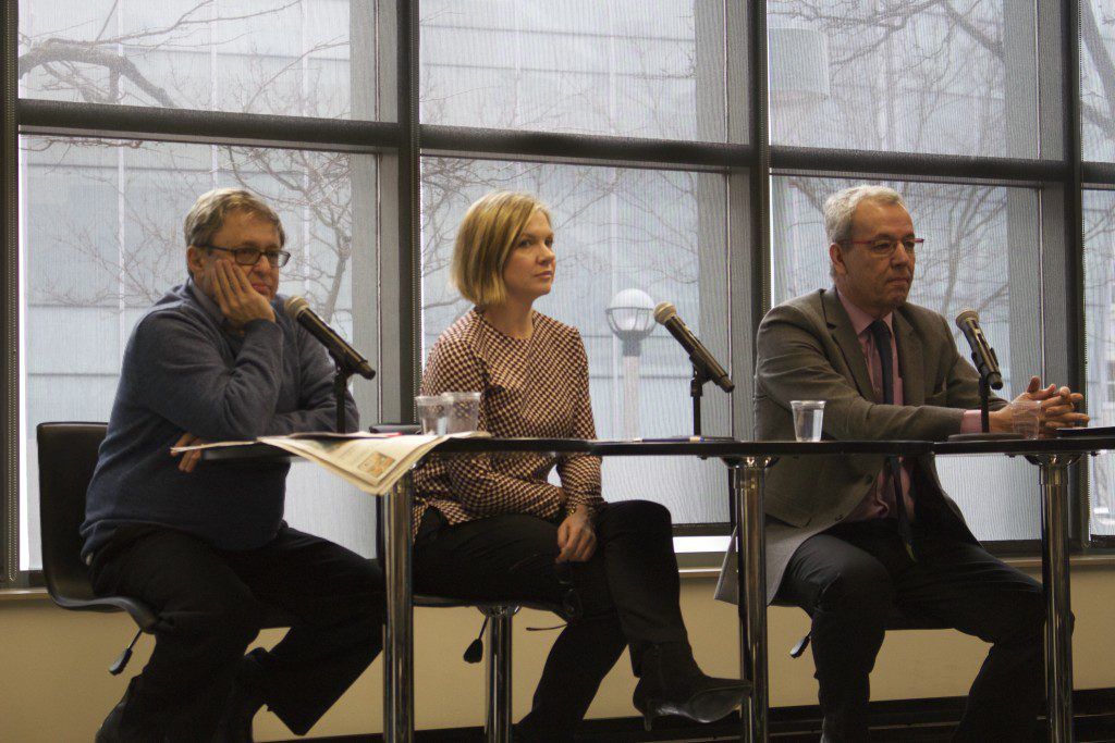 (Left to right) Ivor Shapiro, Lee-Ann Goodman and Jim Turk Photo by: Robert Liwanag