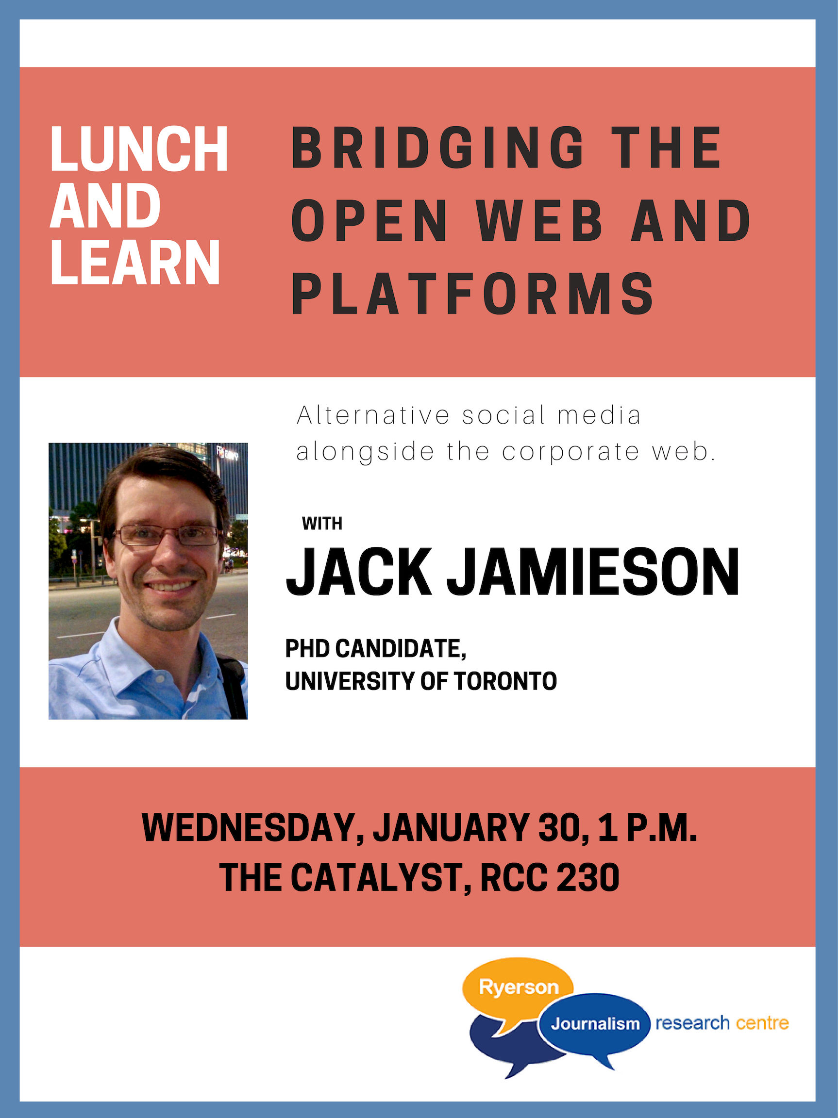 Photo of Lunch and Learn with Jack Jamieson