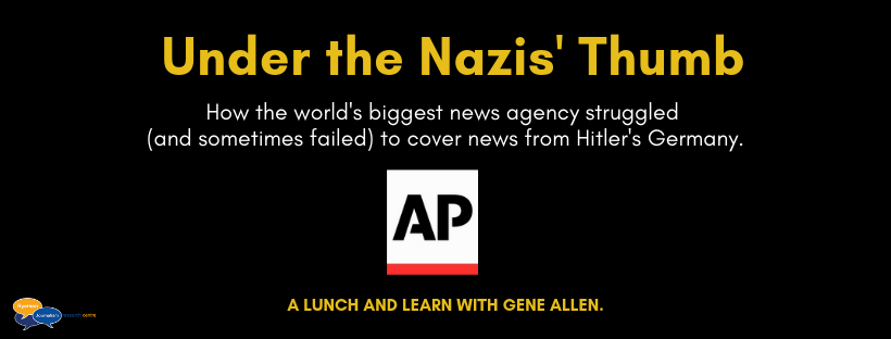 Photo of Under the Nazis' Thumb: A lunch and learn